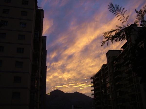 Ore 17.20: tramonto di fine ottobre di costagar51
