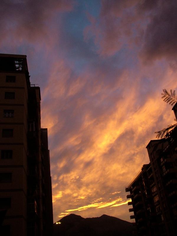 Ore 17.19: tramonto di fine ottobre di costagar51