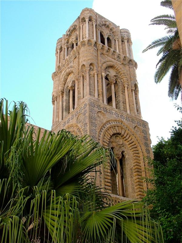 Chiesa della Martorana: il campanile restaurato  di costagar51