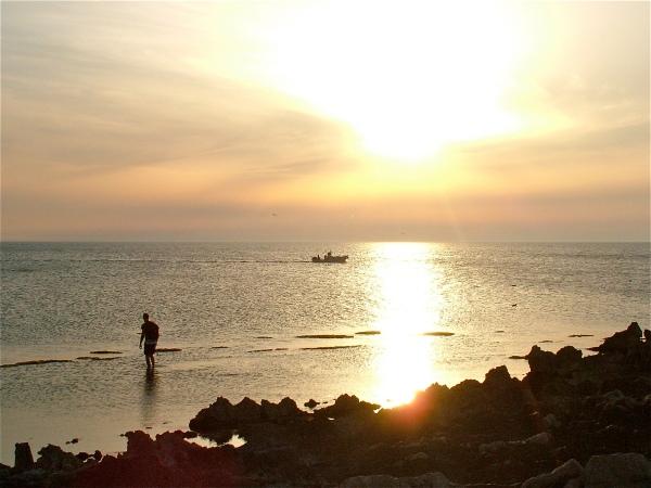 """sul """"Trottoir a vermeti"""": pesca al tramonto di costagar51"""