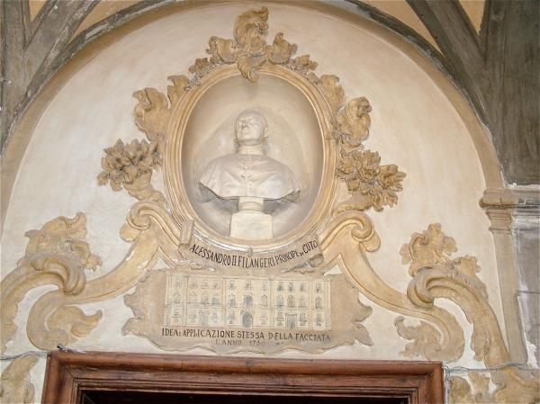 Palazzo Cutò: non è il busto di Alessandro II ma quello del vescovo Giovanni Cirino  di costagar51