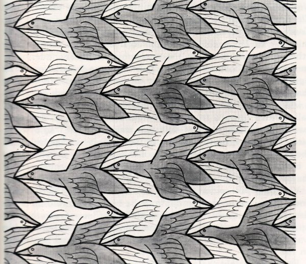 """Day and Night"", di Escher (1938)"