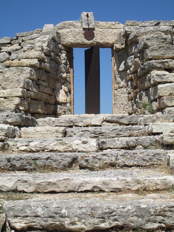 Porta del Teatro di Andromeda, alla Fattoria dell'Arte