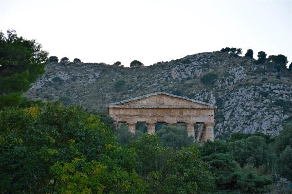 Tempio di Segesta: il frontone di costagar51