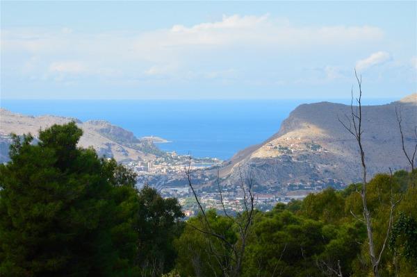 Vista su Mondello dal Monte Pellegrino di costagar51