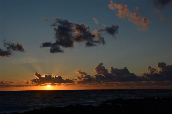 Tramonto in una sera d'agosto sul mare di Isola delle Femmine di costagar51