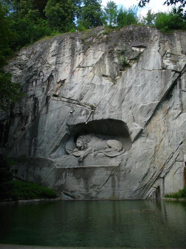 6308_-_Luzern_-_Löwendenkmal
